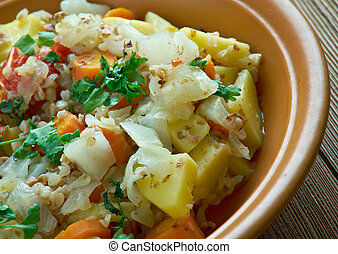 Lithuanian vegetable stew - gerlash Lithuanian vegetable...