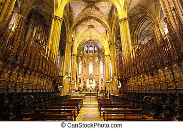 Gods house - Interior of a Spanish Chatolic church