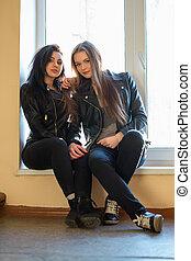 Two pretty women