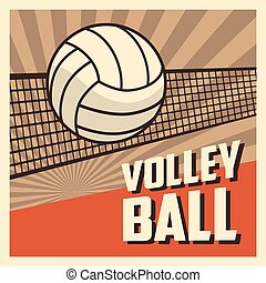 Volleyball sport and hobby design - Ball icon. Volleyball...