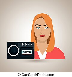 woman voice recorder news