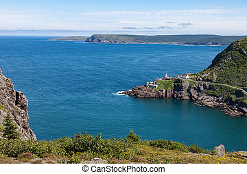 View of Fort Amherst and Cape Spear - A view of Fort...