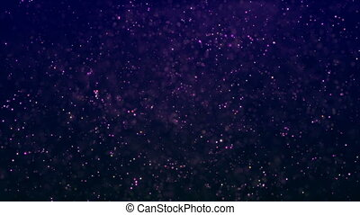 HD Loopable Background with nice purple particles