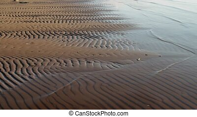 wavy sand pattern - beach Sand wavy pattern abstract...