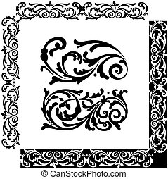 ornament - Classical decorative elements for ornament