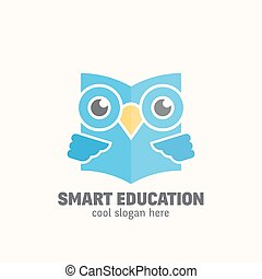 Smart Education Abstract Vector Logo Template Learning...