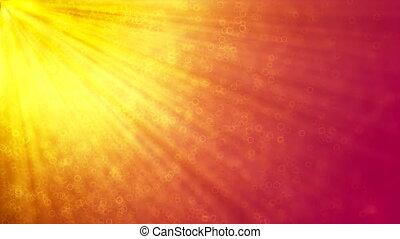 HD Loopable Background with nice sun rays