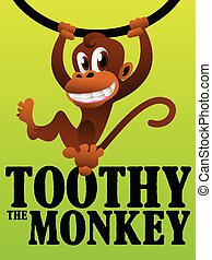 toothy monkey