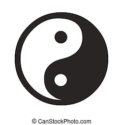 Daoism Vector Symbol Illustration