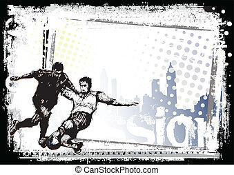 サッカー, 背景, 1