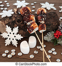 Toasted Marshmallows at Christmas