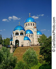 Temple Zhivonachalnoj of the Trinity, Orehovo-Borisovo,...