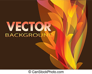 Print - Vector abstract background