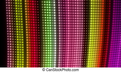 HD Loopable Background with nice abstract leds - HD Loopable...