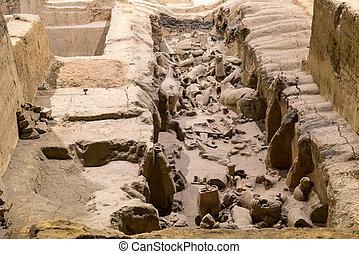 Xian China Terra Cotta Warriors - Xian China Historic...