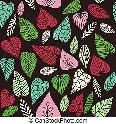 Abstract leaves background.