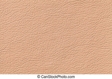 Light orange leather texture background with pattern, closeup