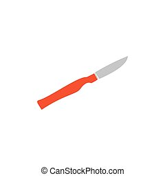 Scalpel Icon Vector Flat simple color pictogram