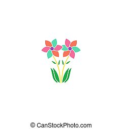 Flowers Icon Vector