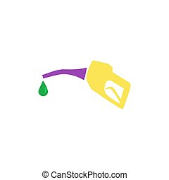 Petrol service Icon Vector