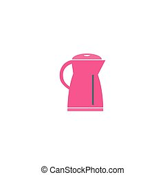 Electric kettle Icon Vector