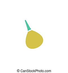 Enema Icon Vector. Flat simple color pictogram