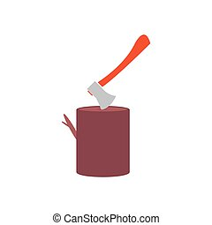 Chopping Icon Vector Flat simple color pictogram