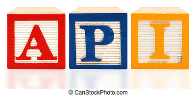 Alphabet Blocks Academic Performance Index API - Colorful...