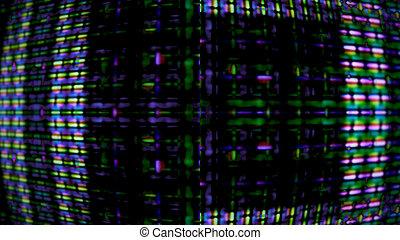 Futuristic Screen Display Pixels 10989 - Futuristic, video...