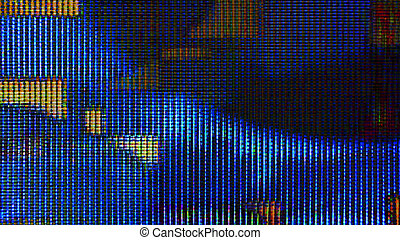 Futuristic Screen Display Pixels 10993 - Futuristic, video...