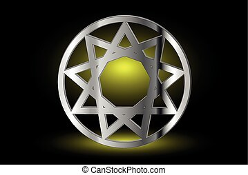 Nine pointed star