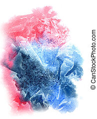 Abstract watercolor background - Bright watercolor abstract...