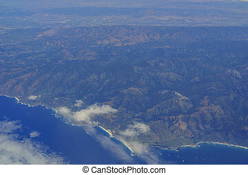 Aerial view of Soberanes Point