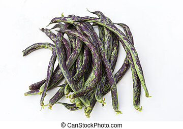 homegrown green haricot beans - homegrown organic green...