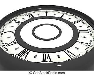 Clock. 3d