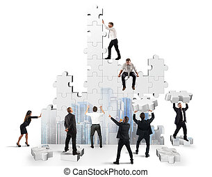 Build the business - Construction of a new and collaborative...