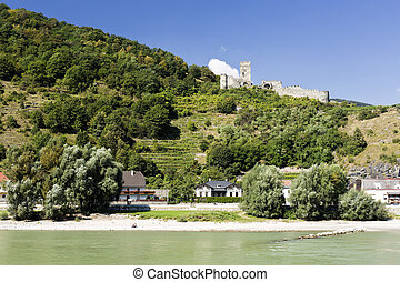 Hinterhaus Castle Ruin - Ruin of the Hinterhaus Castle seen...