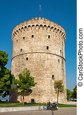 White Tower. Thessaloniki, Greece - The White Tower (Lefkos...