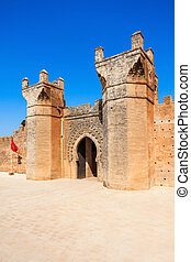 Chellah in Rabat - Chellah or Sala Colonia is a medieval...