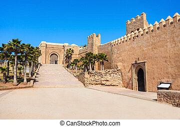Kasbah in Rabat - The Kasbah of the Udayas fortress in Rabat...