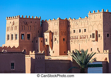 Taourirt Kasbah, Ouarzazate - The Taourirt Kasbah in...