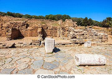 Chellah in Rabat - Rabat Chellah ruins Chellah is a medieval...