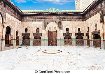 Madrasa Bou Inania - The Medersa Bou Inania is a madrasa in...