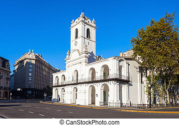 The Buenos Aires Cabildo is the museum near Plaza de Mayo in...