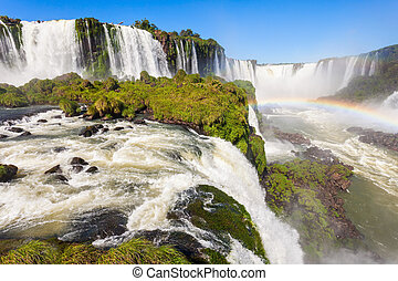 The Iguazu Falls - Iguazu Falls (Cataratas del Iguazu) are...