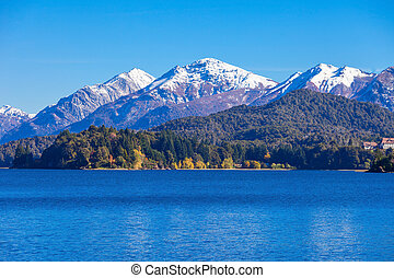 Bariloche landscape in Argentina - Tronador Mountain and...