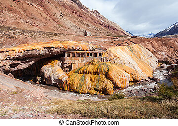 Inca's Bridge near Mendoza - The Inca's Bridge (Puente del...
