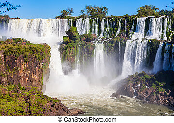 The Iguazu Falls - Iguazu Falls (Cataratas del Iguazu) are...