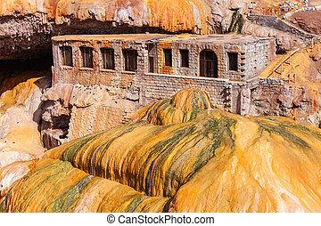 Incas Bridge near Mendoza - The Incas Bridge Puente del Inca...