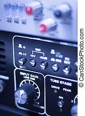 Sound recording audio studio - Professional sound recording...